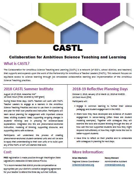 CASTL Flyer